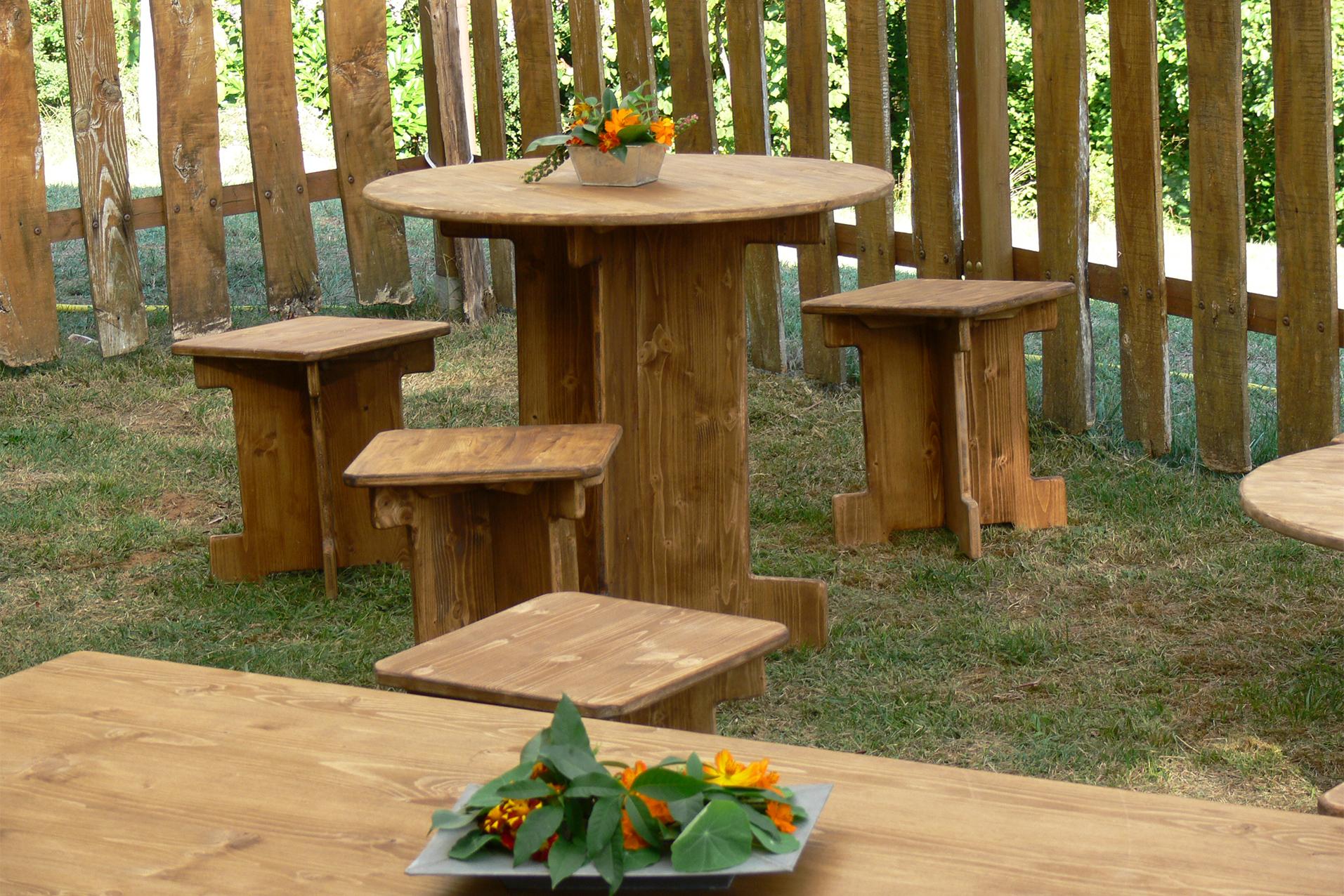 wood stock réception location mobilier bois,  gem
